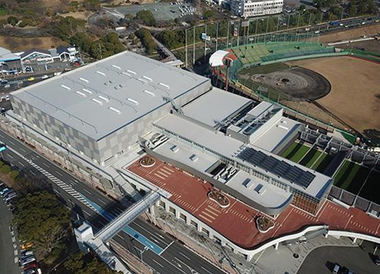 久留米総合スポーツセンター・武道場(新築工事)